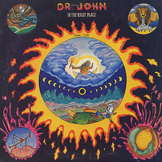 Dr. John / In The Right Place front