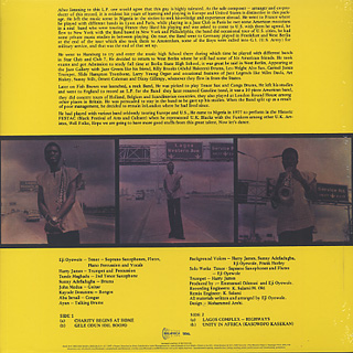 Eji Oyewole / Charity Begins At Home back