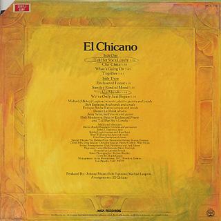 El Chicano / S.T. back
