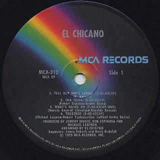 El Chicano / S.T. label