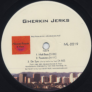 Gherkin Jerks / Don't Dis The Beat back