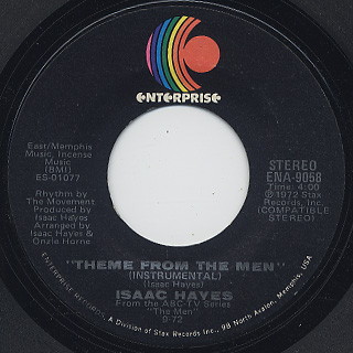 Isaac Hayes / Theme From The Men (Instrumental)