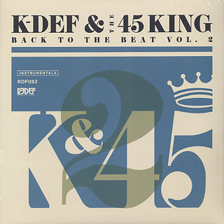 K-Def & 45 King / Back To The Beat Vol. 2