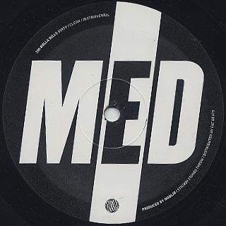 MED / 100 Dolla Bills label