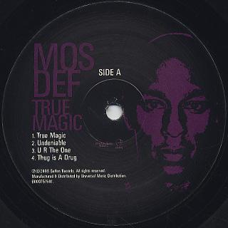 Mos Def / True Magic back