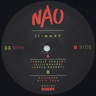 NAO / II - MMXV label