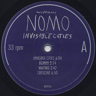 Nomo / Invisible Cities label