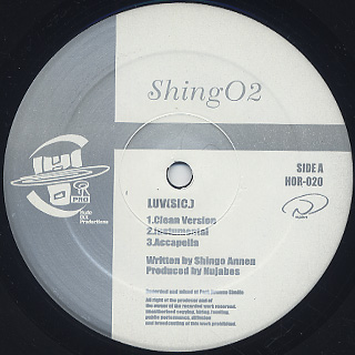 Nujabes feat. Shing02 / Luv(sic.) label