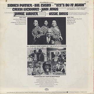 O.S.T.(Curtis Mayfield) / Let's Do It Again back