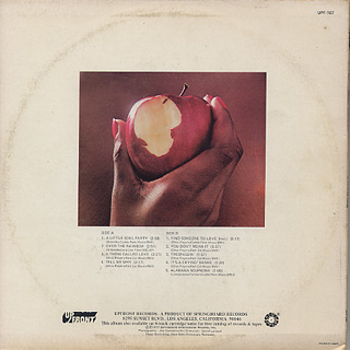 Ohio Players / First Fruit back
