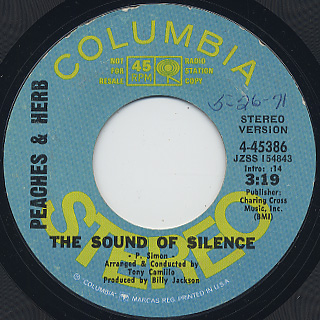 Peaches & Herb / The Sound Of Silence