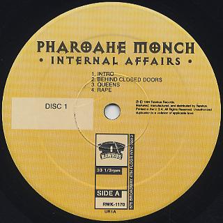 Pharoah Monch / Internal Affairs label