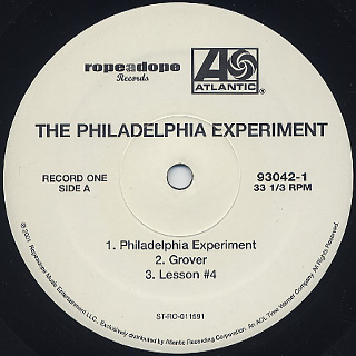Philadelphia Experiment / S.T. label