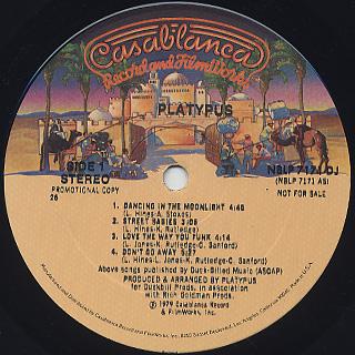 Platypus / S.T. label