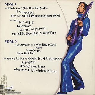 Prince / Rave Un2 The Joy Fantastic back