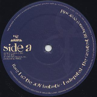 Prince / Rave Un2 The Joy Fantastic label