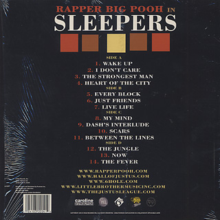 Rapper Big Pooh / In Sleepers back