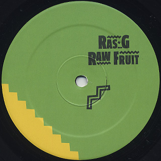 Ras G / Raw Fruit Vol.3&4 label