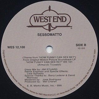 Sessomatto / (Theme From