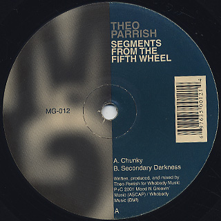 Theo Parrish / Segments From The Fifth Wheel