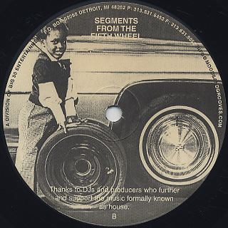 Theo Parrish / Segments From The Fifth Wheel back