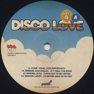 V.A.(Al Kent) / Disco Love Vol.4 -More More More Disco & Soul Uncovered- label