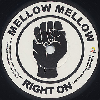 V.A. / Mellow Mellow Right On Vol.6 front