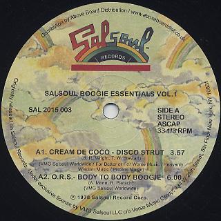 V.A. / Salsoul Boogie Essentials Vol.1
