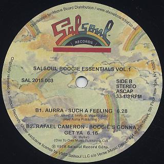 V.A. / Salsoul Boogie Essentials Vol.1 back