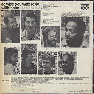 Willie Bobo / Do What You Want To Do back