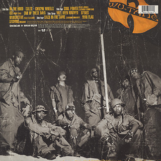 Wu-Tang Clan / Iron Flag back