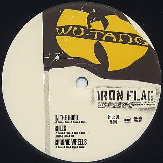 Wu-Tang Clan / Iron Flag label