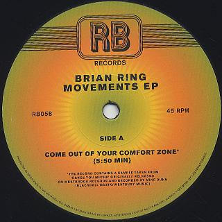 Brian Ring / Movements EP back