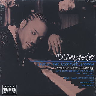 D'Angelo / Live At The Jazz Cafe, London front