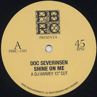 Doc Severinsen / DJ Harvey Edits label