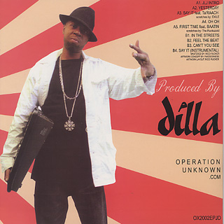 J Dilla / Jay Love Japan back