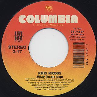 Kris Kross / Jump c/w Lil Boys In Da Hood