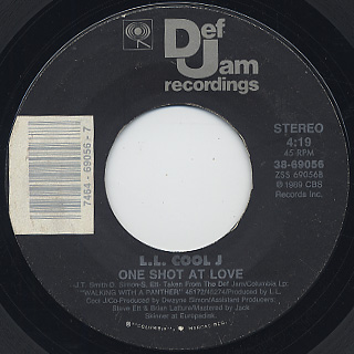 L.L. Cool J / Big Ole Butt c/w One Shot At Love