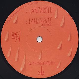 Lindstrom & Todd Terje / Lanzarote label