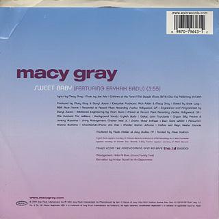 Macy Gray / Sweet Baby back