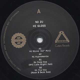 No Zu / Hi Gloss label