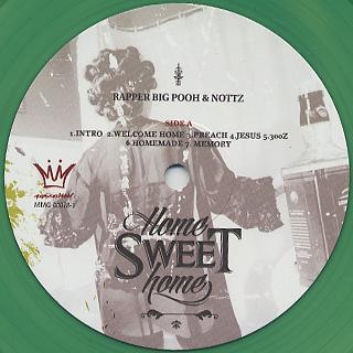 Rapper Big Pooh & Nottz / Home Sweet Home label