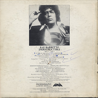 Ray Barretto / Indestructible back