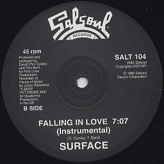 Surface / Falling In Love back