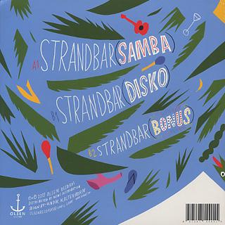 Todd Terje / Strandbar back