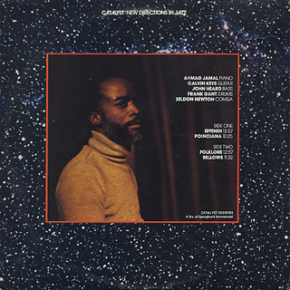 Ahmad Jamal / Recorded Live At Oil Can Harry's back
