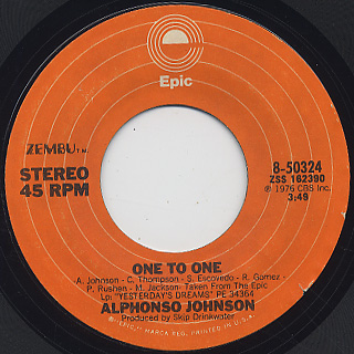 Alphonso Johnson / Love's The Way I Feel 'Bout Cha back