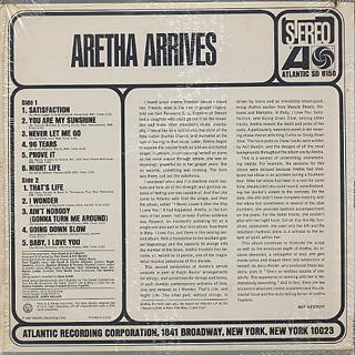 Aretha Franklin / Amazing Grace back