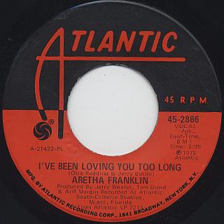 Aretha Franklin / Day Dreaming (45) back