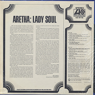 Aretha Franklin / Lady Soul back